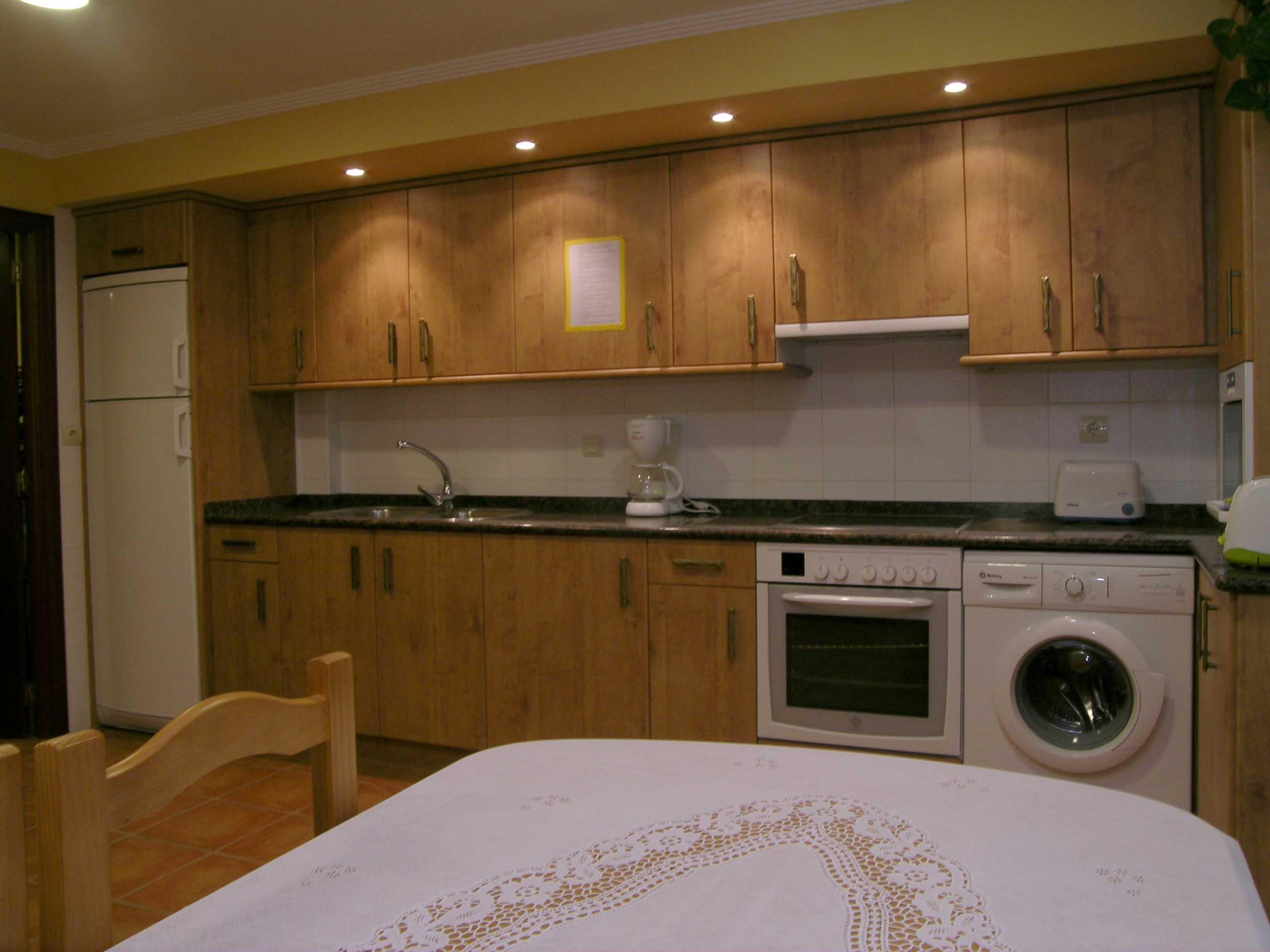 Itulazabal - cocina habitaciones